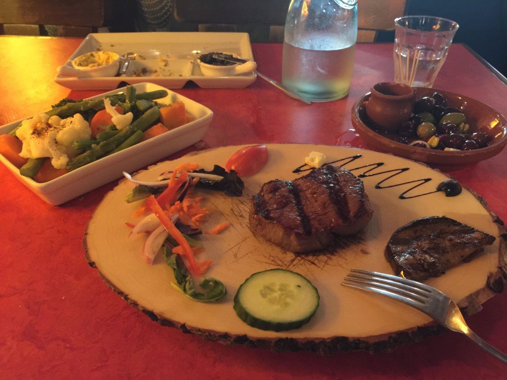 Argentinian steak, we found, is big in Amsterdam! And delicious.
