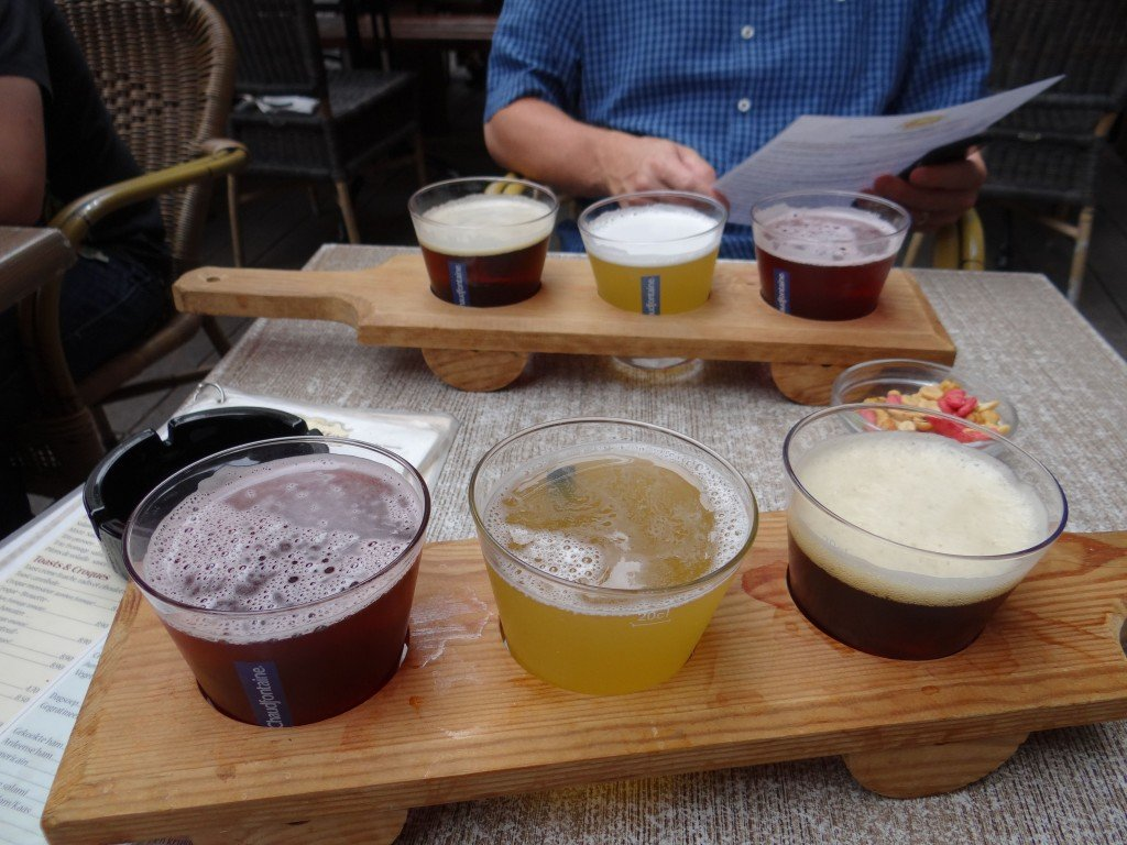 tasting flights in belgium